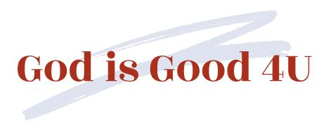 GOD is Good 4U Logo